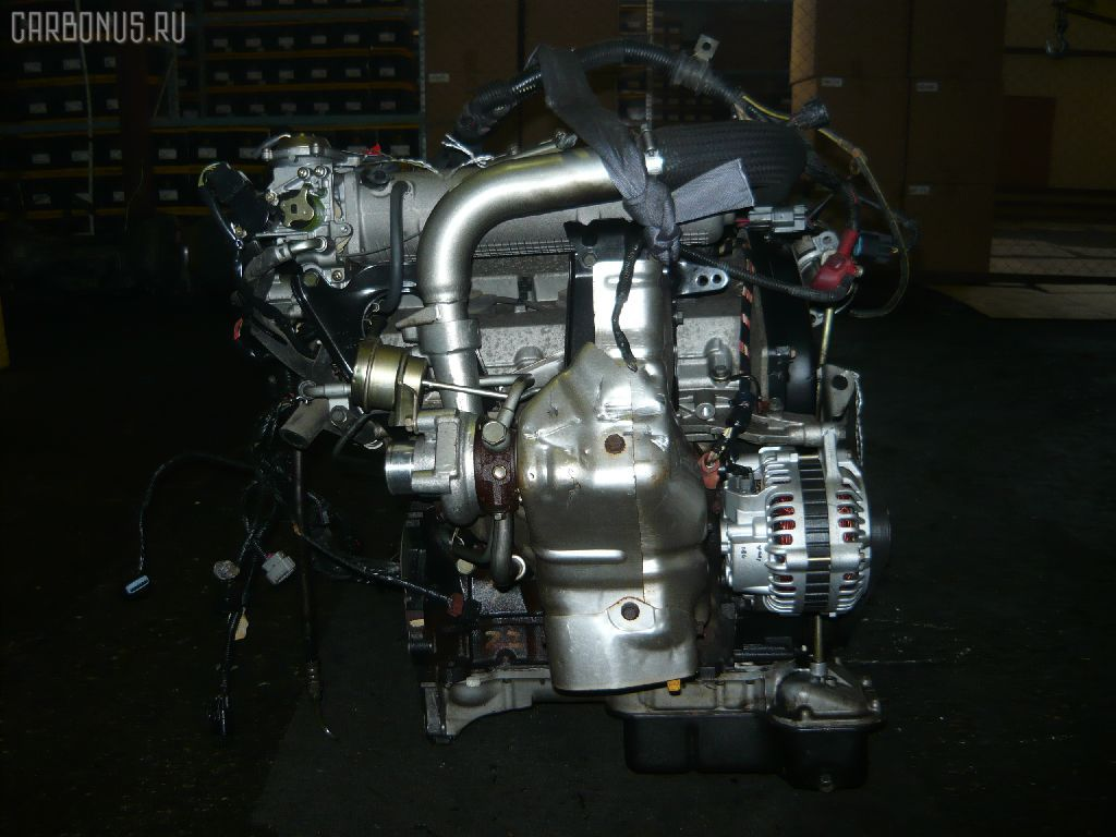 Двигатель MITSUBISHI GALANT EC5A 6A13-TT. Фото 2