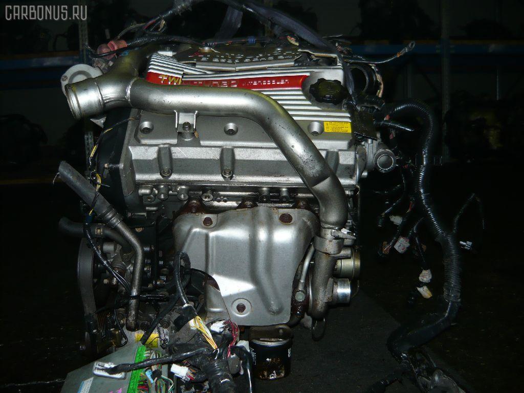 Двигатель MITSUBISHI GALANT EC5A 6A13-TT. Фото 4