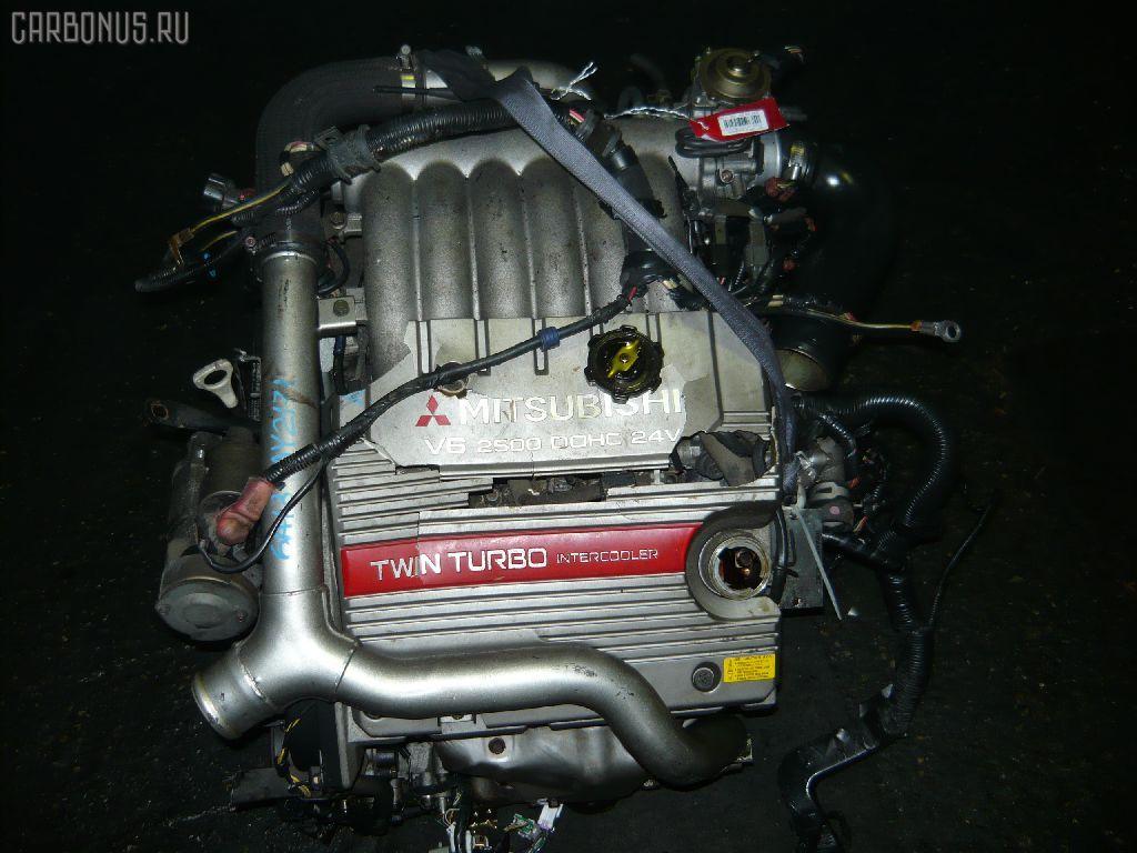 Двигатель MITSUBISHI GALANT EC5A 6A13-TT. Фото 5