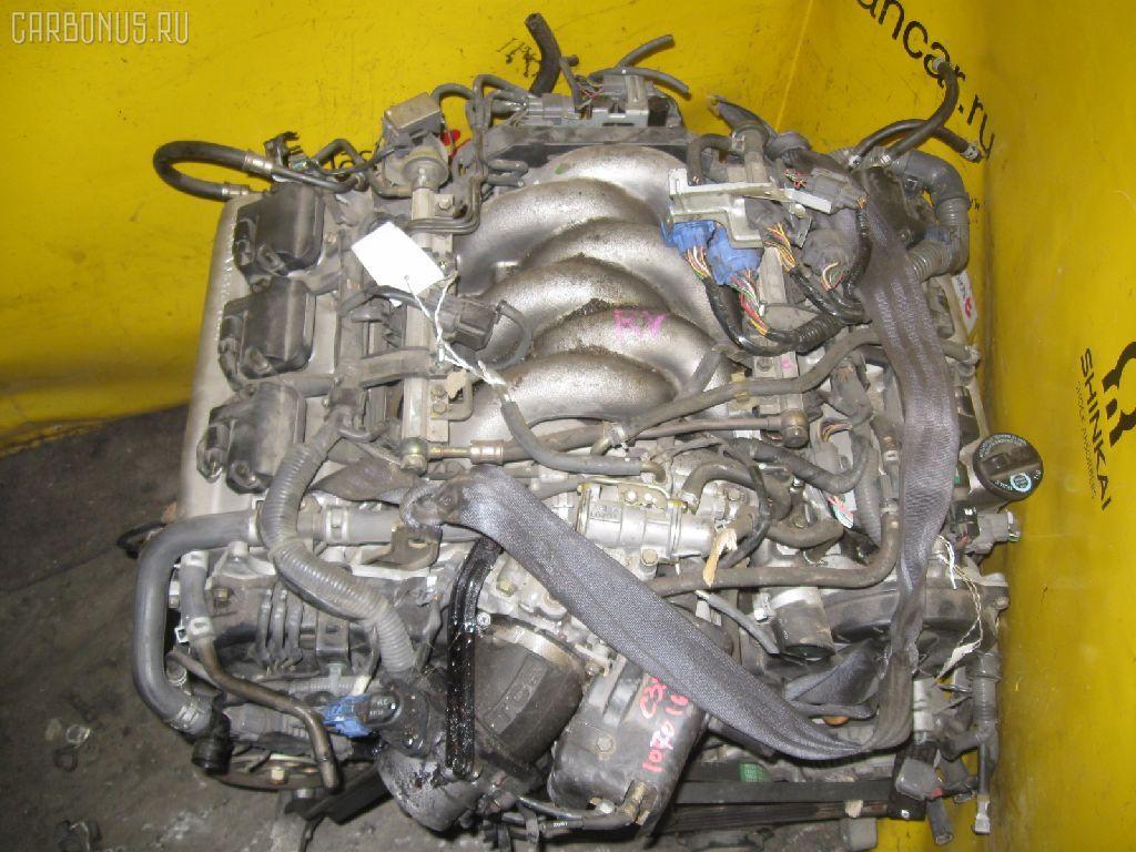Двигатель HONDA LEGEND KA9 C35A. Фото 5