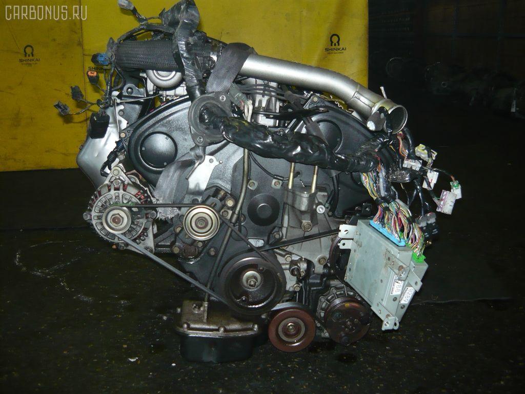 Двигатель MITSUBISHI LEGNUM EC5W 6A13-TT. Фото 1