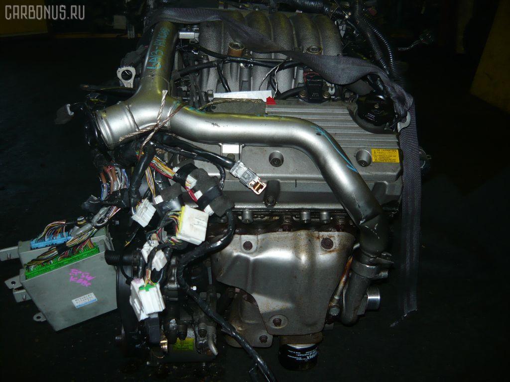 Двигатель MITSUBISHI LEGNUM EC5W 6A13-TT. Фото 2