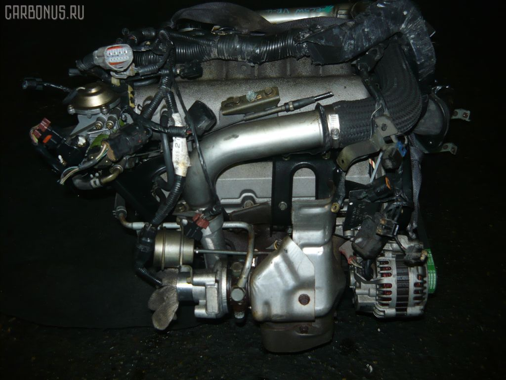 Двигатель MITSUBISHI LEGNUM EC5W 6A13-TT. Фото 3