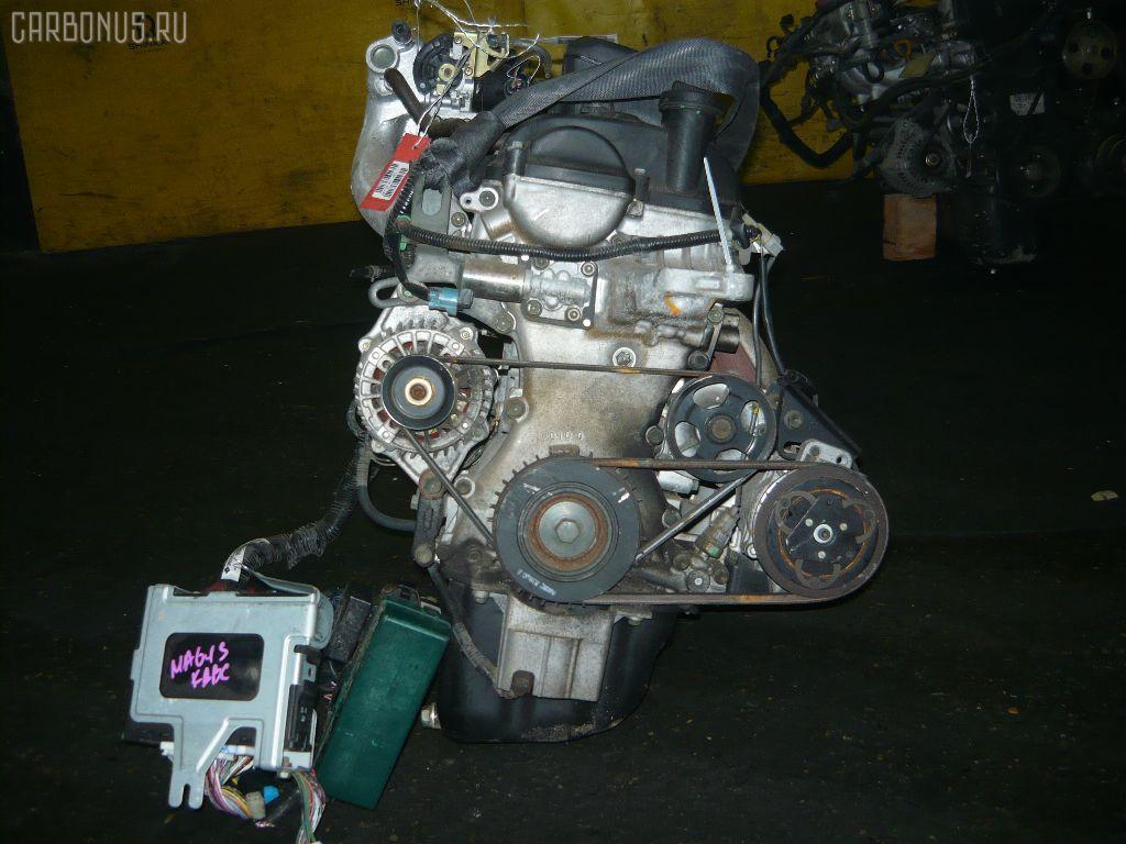Двигатель SUZUKI WAGON R SOLIO MA64S K10A. Фото 1