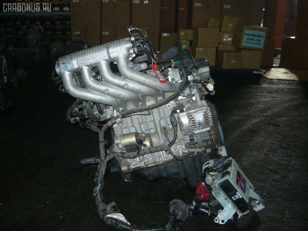 Двигатель SUZUKI WAGON R SOLIO MA64S K10A. Фото 2