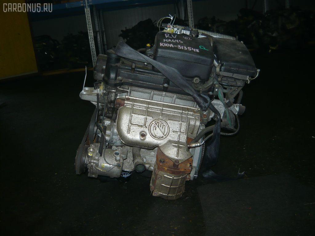 Двигатель SUZUKI WAGON R SOLIO MA64S K10A. Фото 3