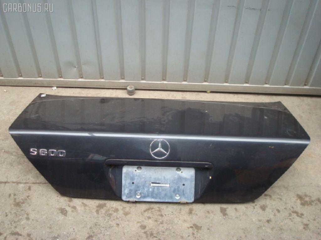 Крышка багажника MERCEDES-BENZ S-CLASS W140.050. Фото 2