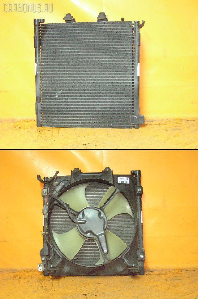 Радиатор кондиционера HONDA HR-V GH1 D16A. Фото 4