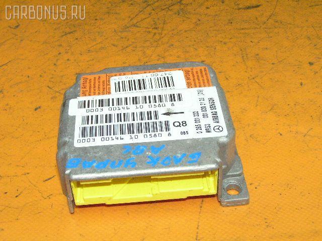 Блок управления air bag Mercedes-benz A-class W168.033 Фото 1