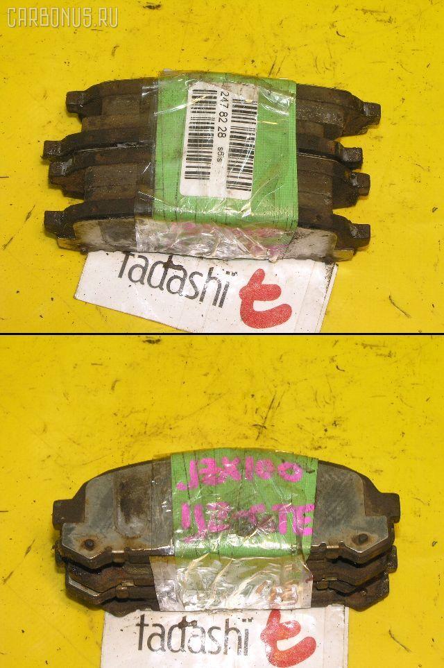 Тормозные колодки TOYOTA CRESTA GX100 1G-FE. Фото 2