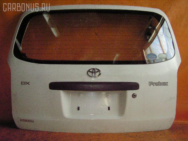 Дверь задняя TOYOTA PROBOX NCP50V. Фото 4