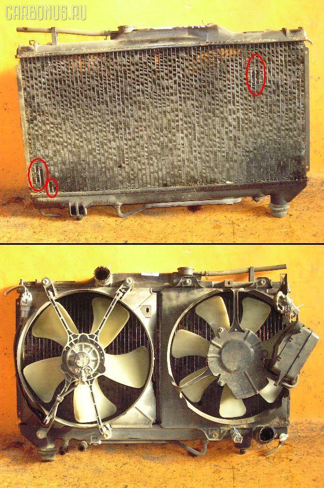 Радиатор ДВС TOYOTA CORONA ST191 3S-FE. Фото 1