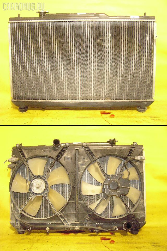 Радиатор ДВС TOYOTA MARK II QUALIS SXV25W 5S-FE. Фото 1