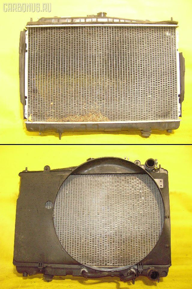 Радиатор ДВС NISSAN LAUREL HC34 RB20DE. Фото 1