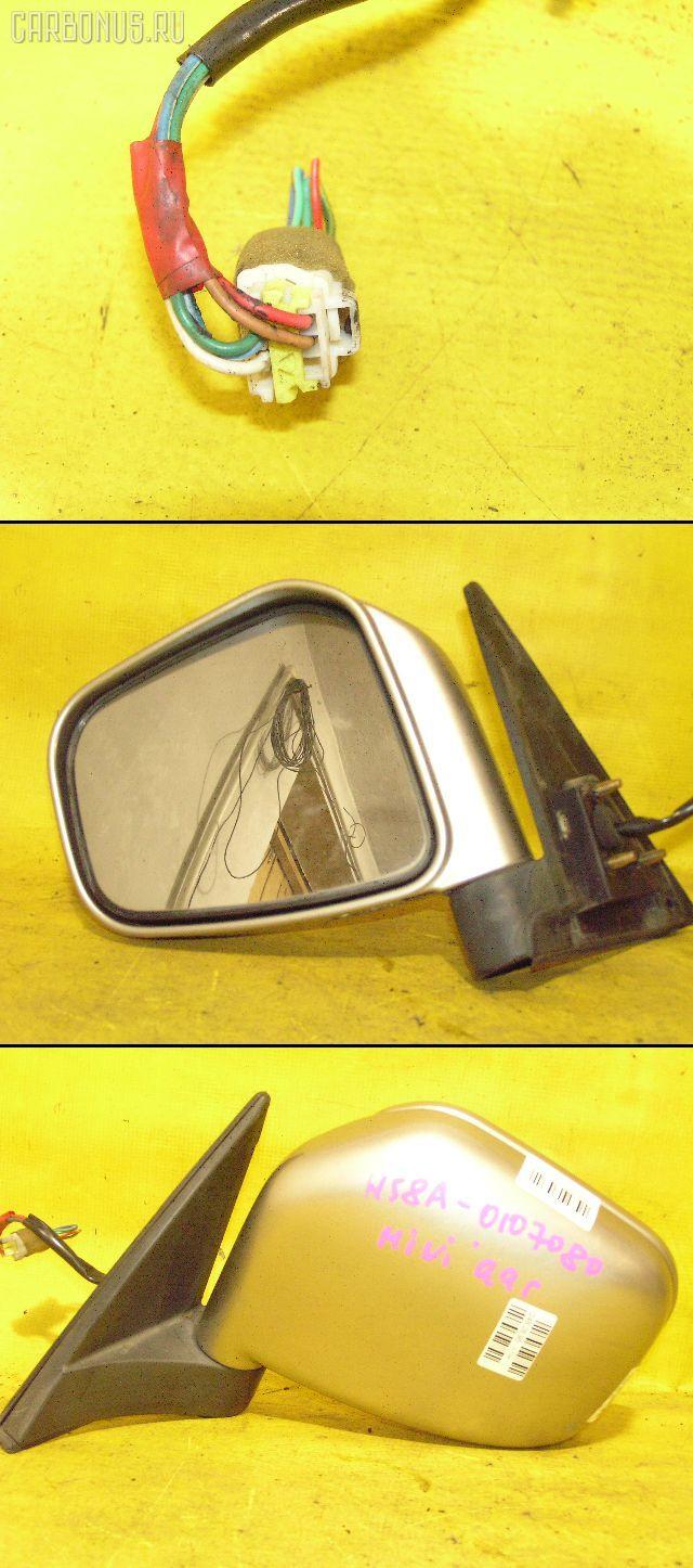 Зеркало двери боковой MITSUBISHI PAJERO MINI H58A. Фото 1
