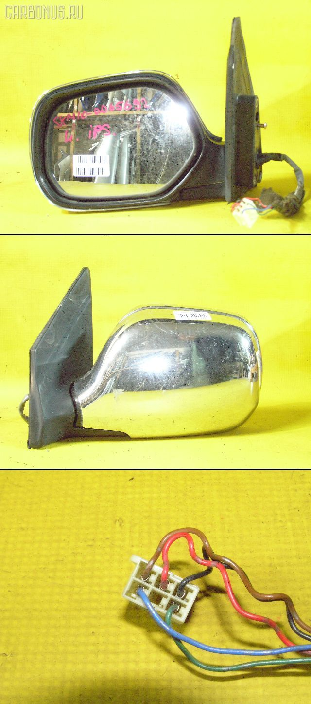 Зеркало двери боковой TOYOTA IPSUM SXM10G. Фото 8