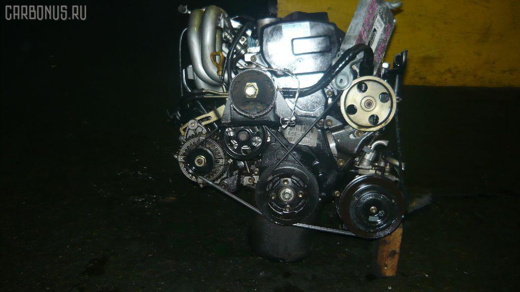 Двигатель TOYOTA CALDINA ET196V 5E-FE. Фото 1