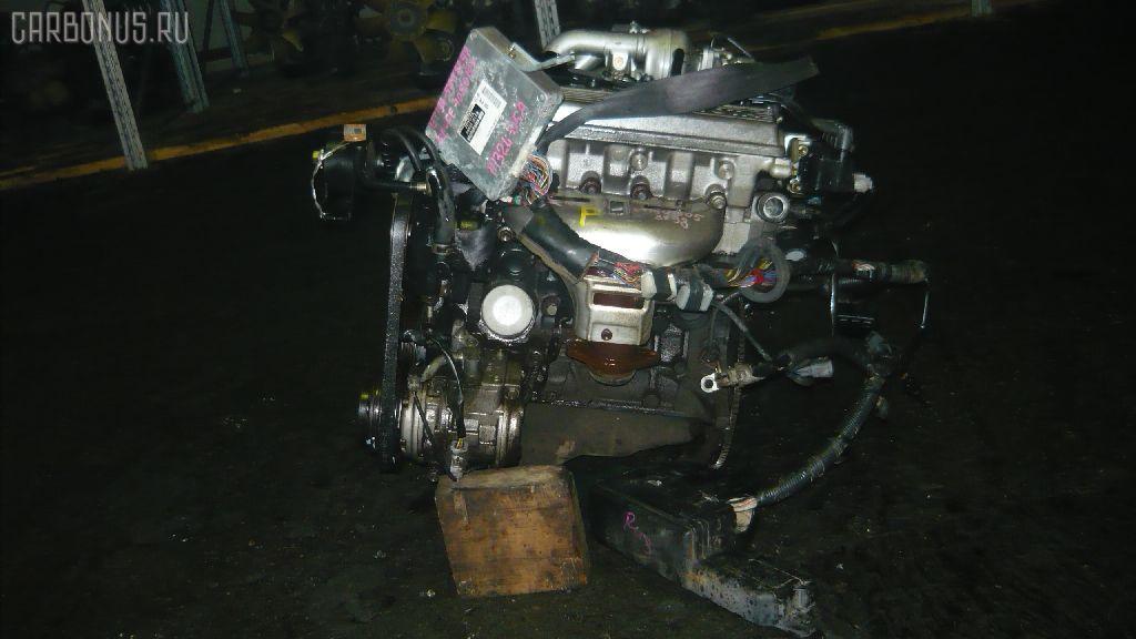 Двигатель TOYOTA CALDINA ET196V 5E-FE. Фото 2