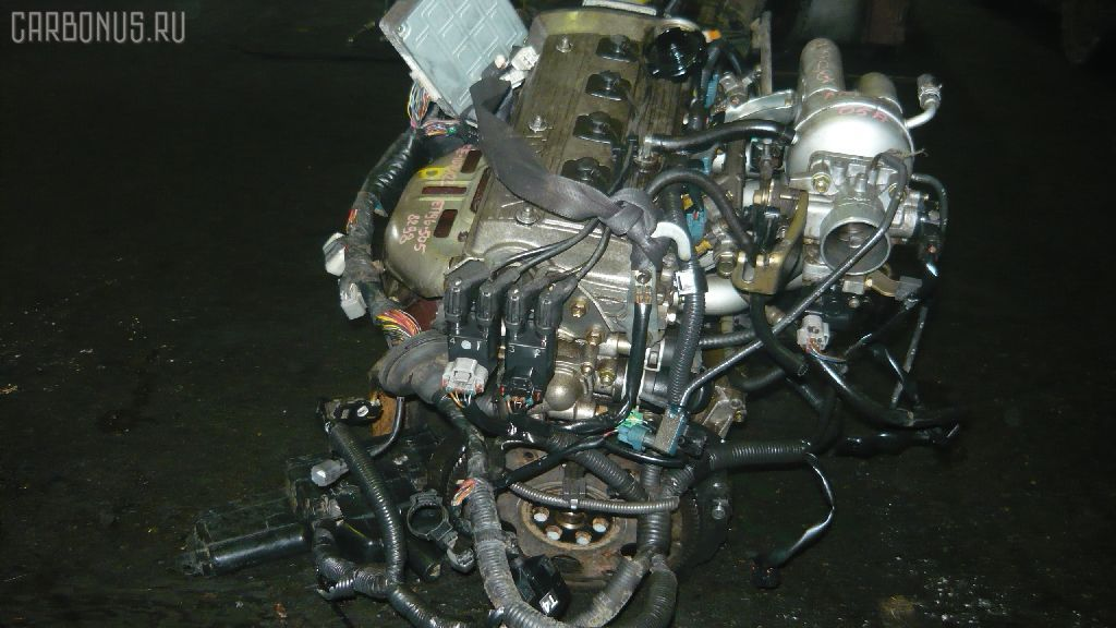Двигатель TOYOTA SPRINTER WAGON EE104G 5E-FE. Фото 3