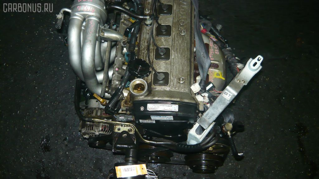 Двигатель TOYOTA CALDINA ET196V 5E-FE. Фото 5