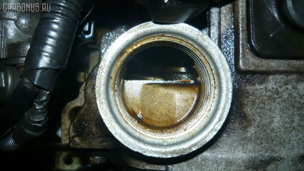 Двигатель TOYOTA CALDINA ET196V 5E-FE. Фото 6