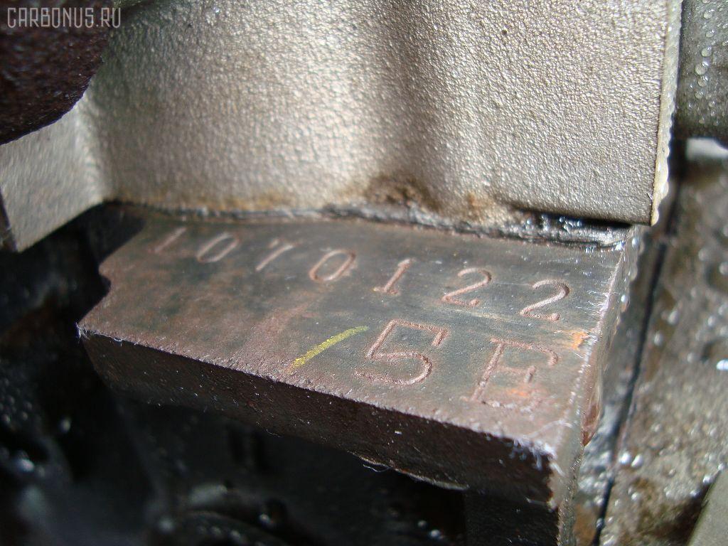 Двигатель TOYOTA COROLLA WAGON EE103V 5E-FE. Фото 8