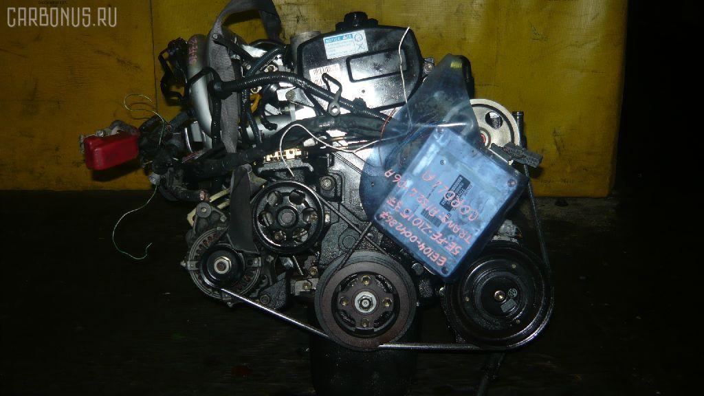 Двигатель TOYOTA COROLLA WAGON EE103V 5E-FE. Фото 10
