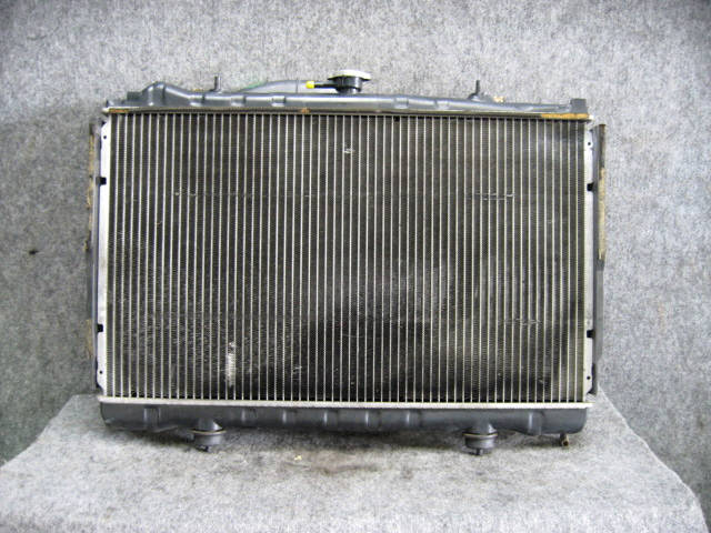 Радиатор ДВС NISSAN SKYLINE ECR32 RB25DE. Фото 3