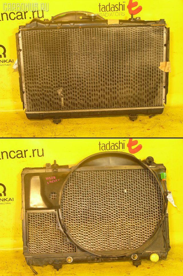 Радиатор ДВС NISSAN SKYLINE ECR32 RB25DE. Фото 1