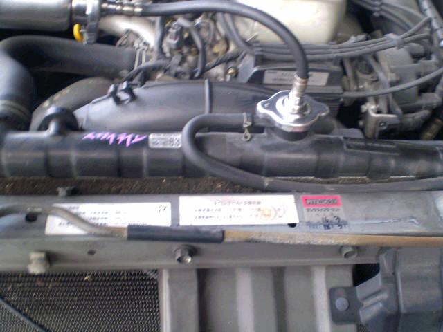 Радиатор ДВС NISSAN SKYLINE HR33 RB20E. Фото 8
