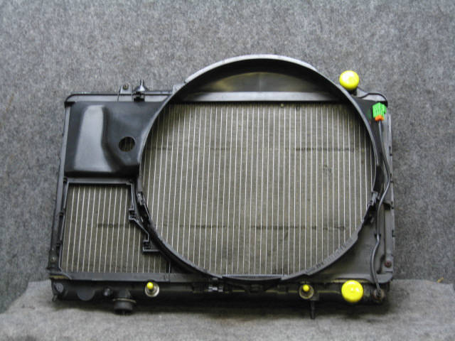 Радиатор ДВС NISSAN SKYLINE ECR32 RB25DE. Фото 5