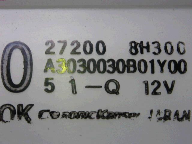 Печка NISSAN X-TRAIL NT30 QR20DE. Фото 4