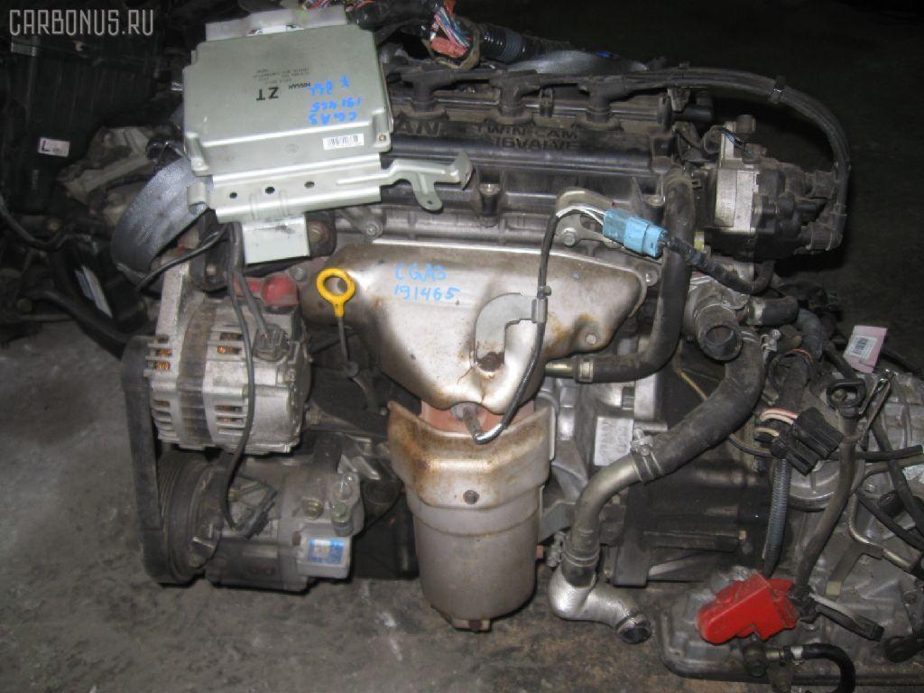 Двигатель NISSAN CUBE AZ10 CGA3DE. Фото 3