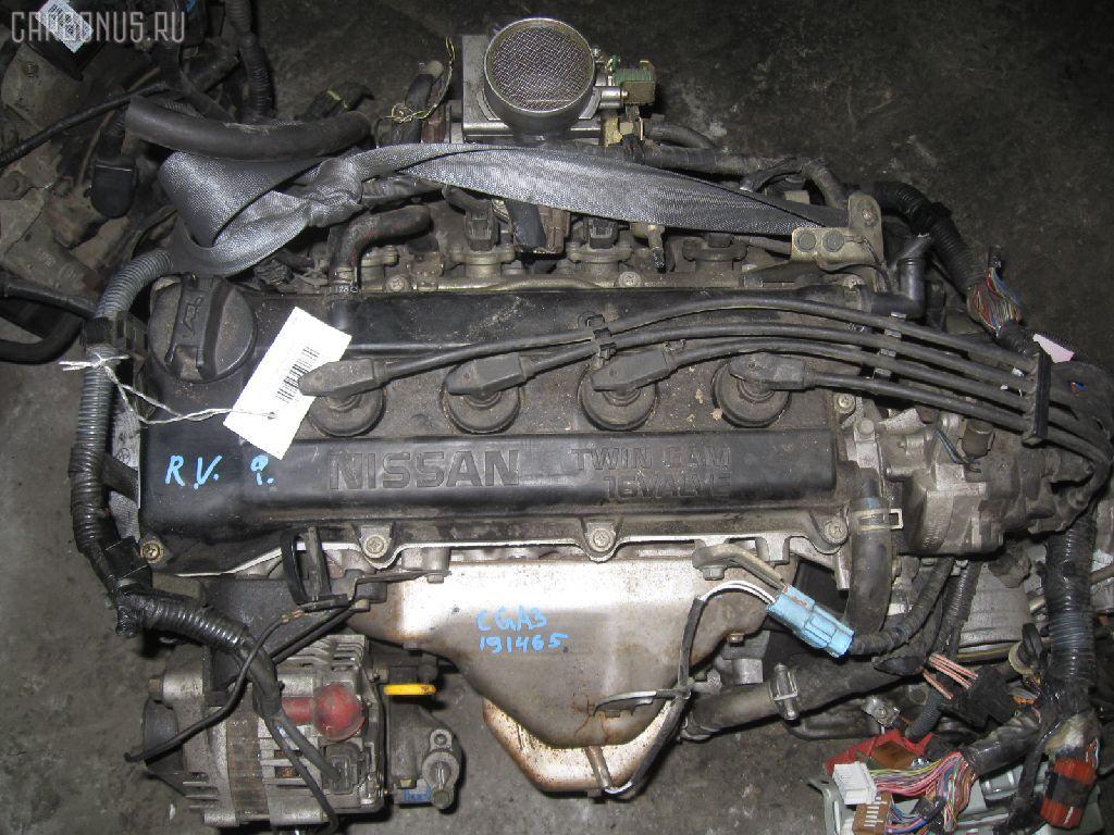 Двигатель NISSAN CUBE AZ10 CGA3DE. Фото 4