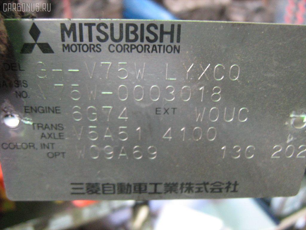 Воздухозаборник MITSUBISHI PAJERO V75W 6G74 Фото 2