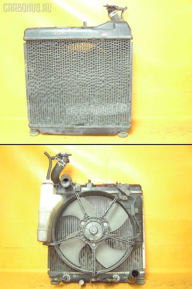 Радиатор ДВС HONDA FIT GD1 L13A. Фото 4