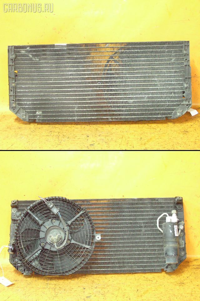 Радиатор кондиционера TOYOTA SPRINTER CARIB AE111G 4A-GE. Фото 2