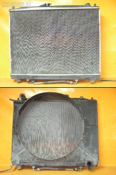 Радиатор ДВС на Mitsubishi Pajero V75W 6G74 MR968286  MR993041