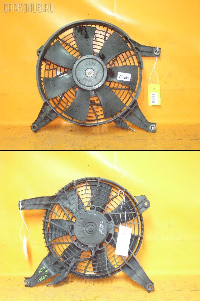 Вентилятор радиатора кондиционера MITSUBISHI PAJERO V75W 6G74. Фото 1