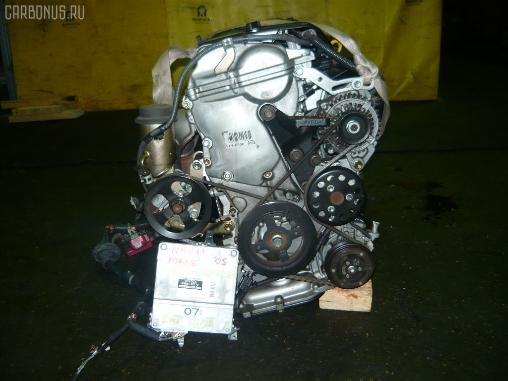 Двигатель TOYOTA PREMIO NZT240 1NZ-FE. Фото 1