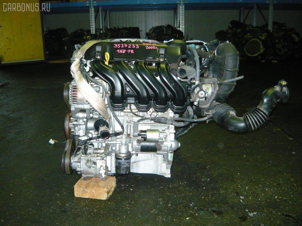Двигатель TOYOTA PREMIO NZT240 1NZ-FE. Фото 3
