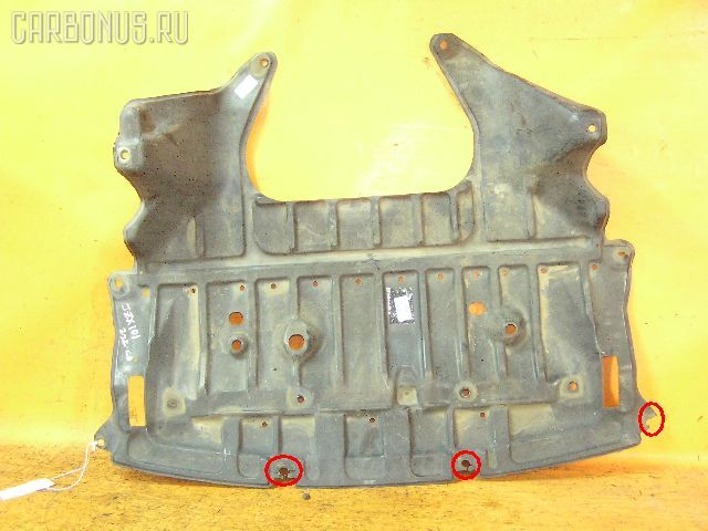 Защита двигателя TOYOTA CHASER SX100 4S-FE. Фото 4
