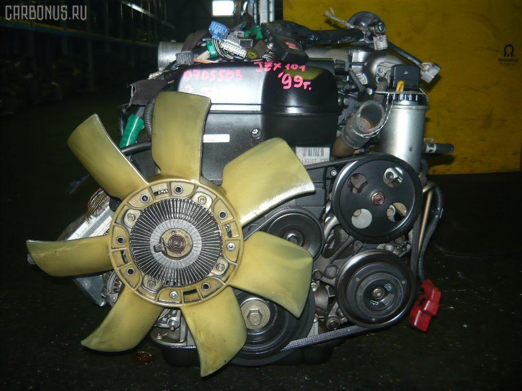 Двигатель TOYOTA CROWN JZS155 2JZ-GE. Фото 5