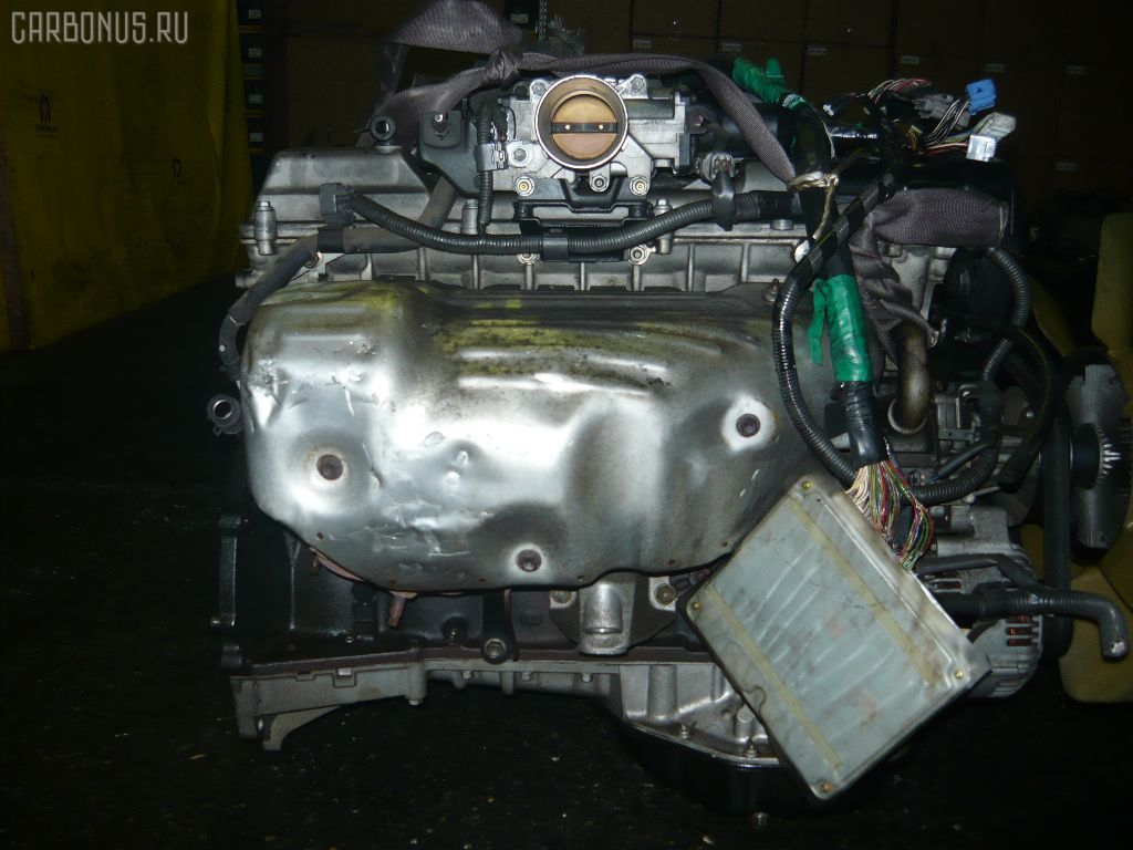 Двигатель TOYOTA CROWN JZS155 2JZ-GE. Фото 7