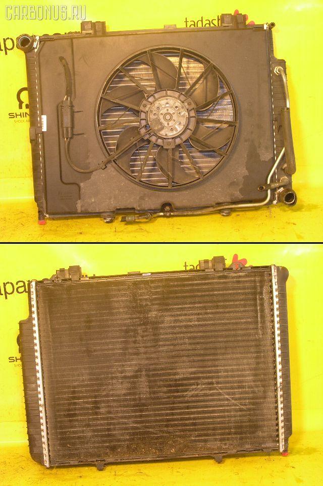 Радиатор ДВС MERCEDES-BENZ E-CLASS STATION WAGON S210.237 111.970. Фото 1
