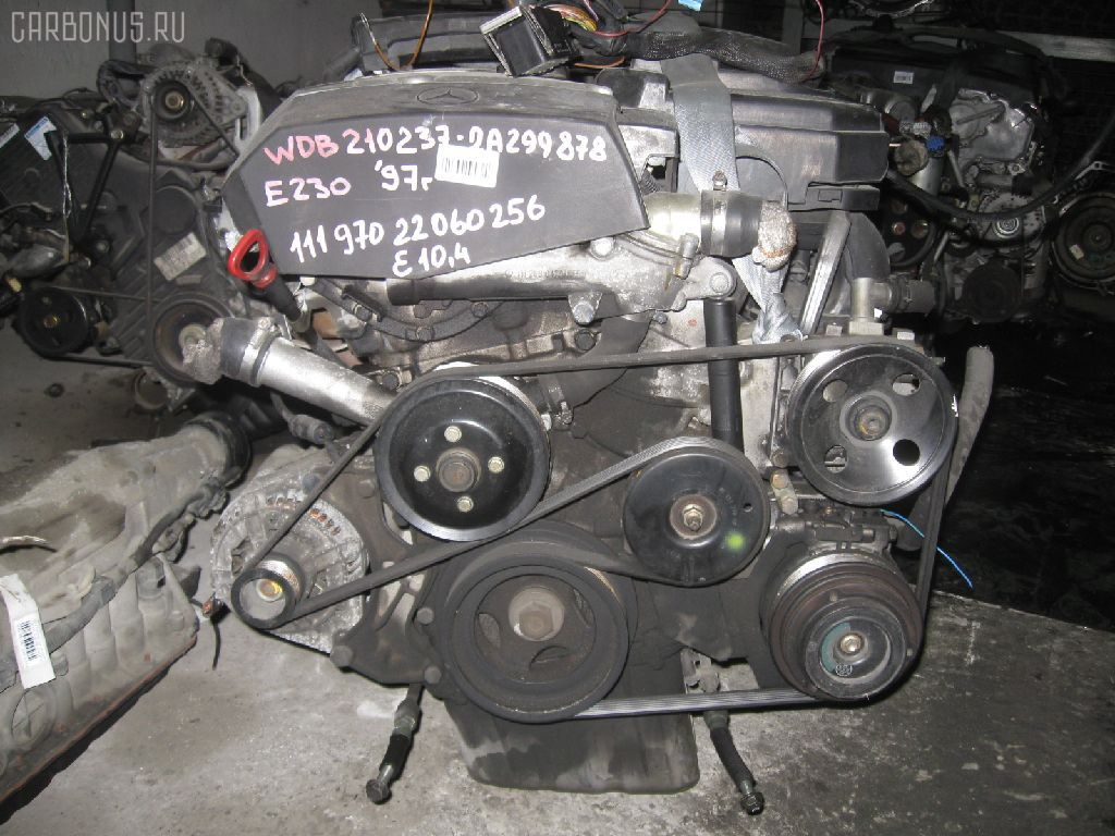 Двигатель MERCEDES-BENZ E-CLASS STATION WAGON S210.237 111.970. Фото 8
