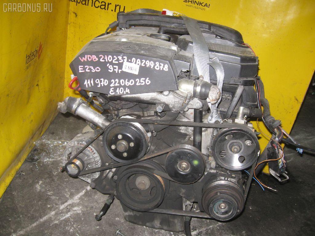 Двигатель MERCEDES-BENZ E-CLASS STATION WAGON S210.237 111.970. Фото 5