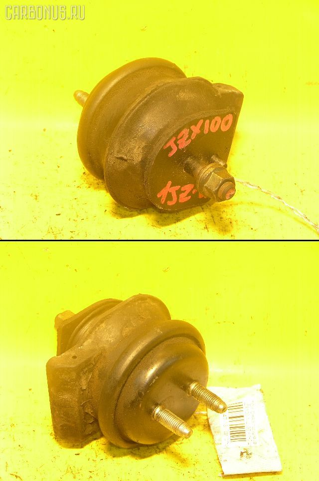 Подушка двигателя TOYOTA CRESTA JZX100 1JZ-GE. Фото 3