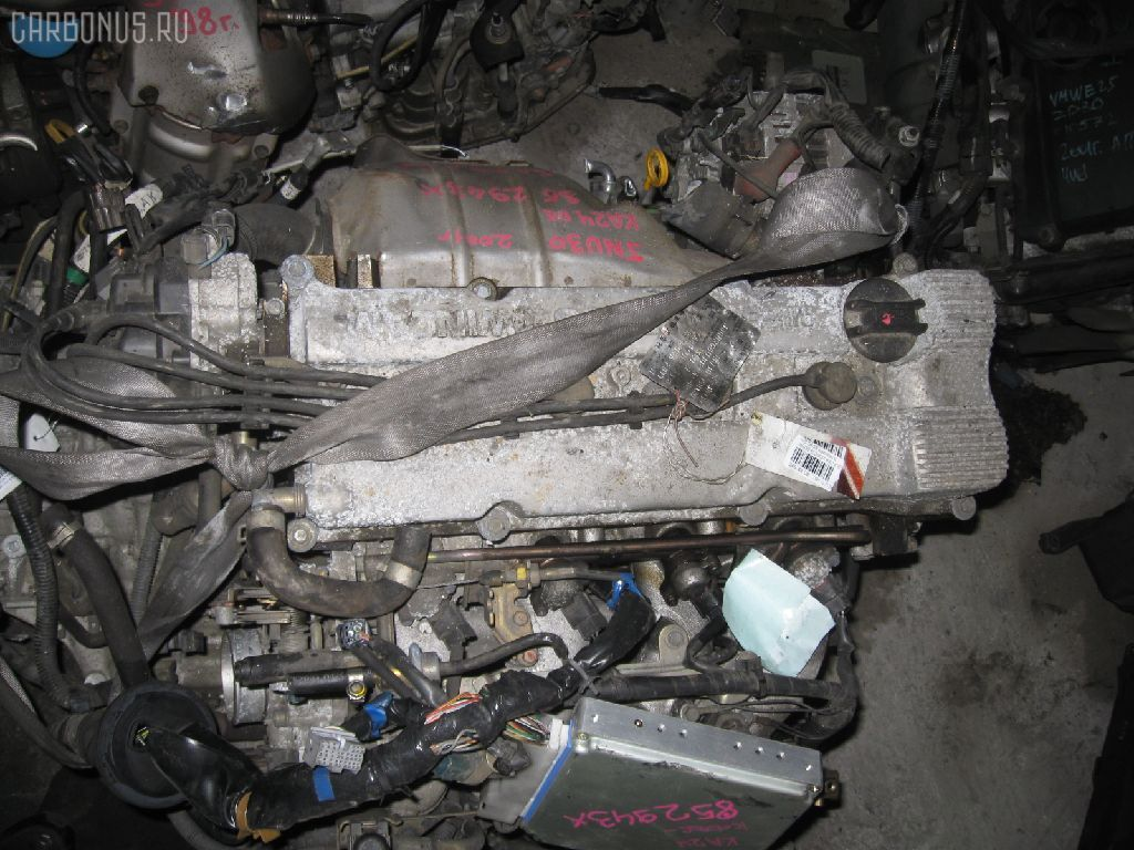 Двигатель NISSAN BASSARA JNU30 KA24DE. Фото 10