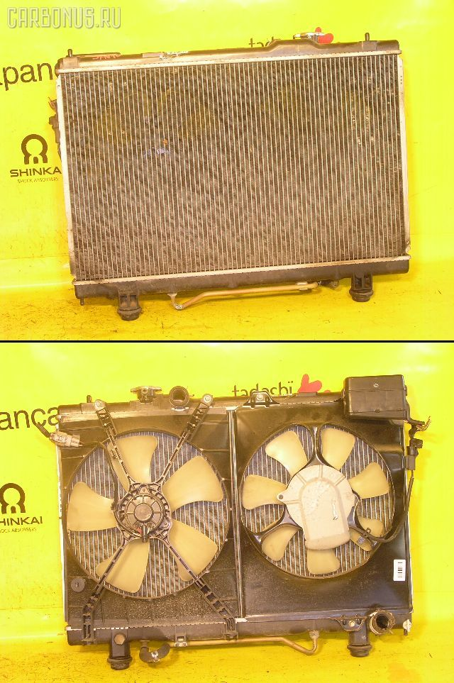 Радиатор ДВС TOYOTA NADIA SXN10 3S-FE. Фото 10